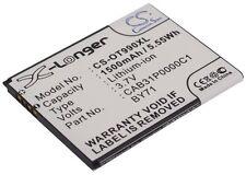 3.7 V Batteria per Alcatel One Touch 903, T-Mobile Move, One Touch 918D, OT-909, o