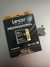 Lexar 32GB 1066X UDMA 7 Professional Compact Flash Card - NEW & GENUINE