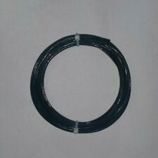 18 Awg Black Mil Spec Wire Ptfe Stranded Silver Plated 10 Ft