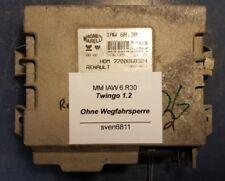 RENAULT TWINGO Dispositif de commande MAGNETI MARELLI iaw6.30 7700860324 sans dispositif d'immobilisation