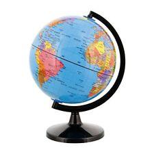 Blue Ocean Desktop World Globe Black Base Earth Geography Educational Globe