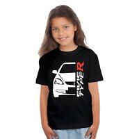 T-shirt enfant Fille Honda civic type R