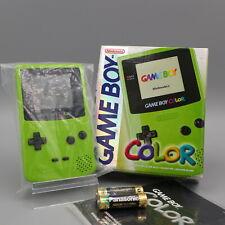 🎮 Nintendo GameBoy Color Konsole GRÜN 💥 NEU NEW 💥 OVP MINT UNBESPIELT