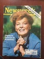 Katharine Hepburn - Movie Star - 1969 NEWSWEEK Magazine