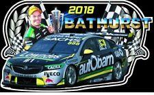 Craig Lowndes Sticker 2018 Bathurst Winner Champion V8 Supercars Holden Win