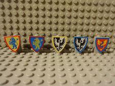 (G9/1) LEGO RITTERBURG SCHILD 3846px10 3846p4h 3846p4q 3846px9 3876 6085 6080 kg