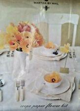 Martha Stewart Crepe Flower Kit