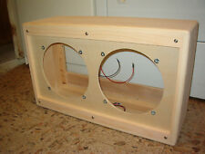 TRM 2x10 VS210U guitar extension cabinet tweed style 210 project.
