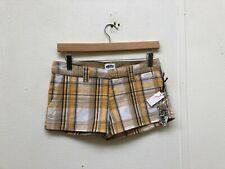 Vans Of The Wall Women's Mini Boardwalk Plaid Shorts - Various Sizes - New