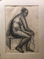 Dessin 20è XXè Einbeck Nu Ec.polonaise Réalisme+Livre d'art 1929 Warnod in8 RARE