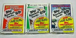 (3) 1988 Topps Cello Pack SEALED Tommy Lasorda, and TWO Nolan Ryan on top +BONUS