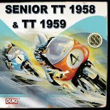 SENIOR TT 1958 & TT 1959 CD. HONDA'S DEBUT. GRAHAM WALKER. 66 Min. DUKE DMCD9943
