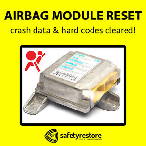 ⭐⭐⭐⭐⭐for FORD LINCOLN SRS AIRBAG MODULE RESET CRASH DATA CLEAN CLEAR