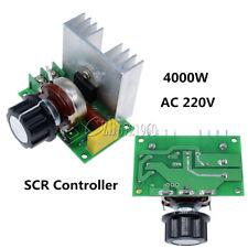 AC 220V 4000W SCR Voltage Regulator Speed Controller Dimmer Thermostat
