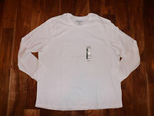 NEW Mens EDDIE BAUER White Long Sleeve Shirt Size XXL 2XL
