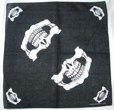 12 pieces Skull Jaw Bone Bandana Head Wrap Face Mask Biker Scarf Neckerchief