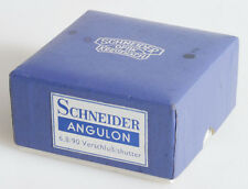 SCNEIDER KREUZNACH OPTIK ANGULON 90MM F/6.8 BOX ONLY