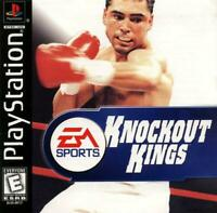 Knockout Kings Playstation Game PS1 Used Complete