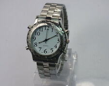 English Talking Watch quartz watch Big Voice For Blind People Or The Elderly