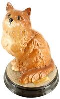 Vintage Beswick Porcelain Ceramic Figural Persian Cat Animal Collectible England
