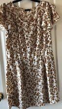 Cream Vero Moda Butterfly Dress (uk size 12)