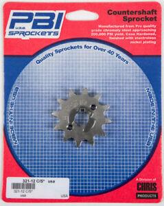 PBI Countershaft Steel Front Sprocket Honda Part # 321-12 C/S 321-12 50-32112