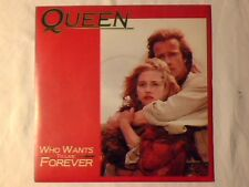"QUEEN Who wants to live forever 7"" ITALY FREDDIE MERCURY COME NUOVO LIKE NEW!!!"