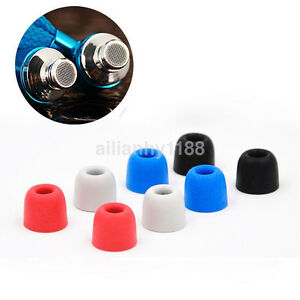 4PCS/Bag Memory Foam 4mm Earbud Ear Tips Earplug For Universal IN-EAR Earphones