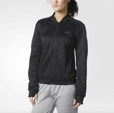 Women's adidas Team Issue Bomber Jacket Color Black Size X-large