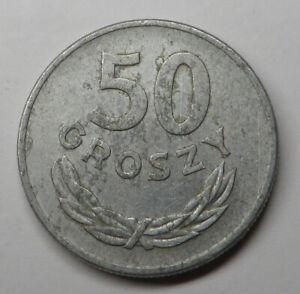 Poland 50 Groszy 1949 Aluminum Y#44a