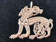 Unique Gryphon Wyvern Dragon Mythological Creaturehallmarked Al Sterling Pendant