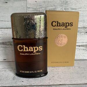 CHAPS After Shave Men RALPH LAUREN 1st FORMULA by WARNER 3.4oz Cologne Splash