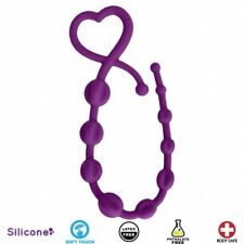 Curve Soft Touch Body Safe Hearts n Spurs Silicone Anal Four Pointed Star Purple
