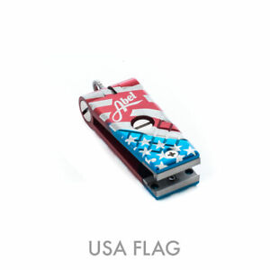 NEW ABEL FLY FISHING LINE NIPPER CUTTER USA FLAG IN STOCK FREE US SHIPPING