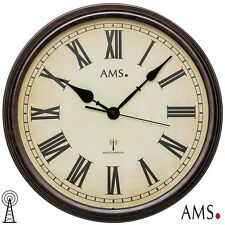 XL Ams 46 Wall Clock Rc Radio Controlled Office Kitchen Study Room 112