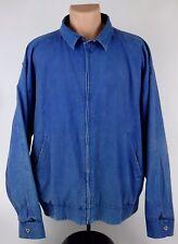 "Vintage Woolrich Mens XL ""Atlantic Blue"" Faded Cotton Lightweight Jacket"