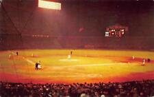 Cleveland OH Stadium Indians Night Baseball in 1958 Postcard