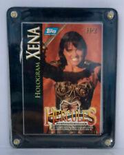 1996 Topps Hercules The Legendary Journeys Holograms Xena H-2/ Plus Frame