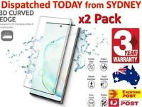 2x For Samsung Galaxy S20 FE / Note / Ultra / S10 5G full screen Tempered glass