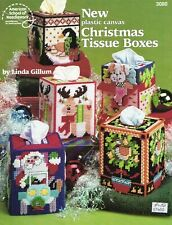 New Plastic Canvas Christmas Tissue Boxes American School Of Needlework Patterns