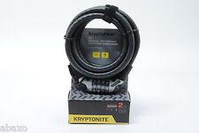 Kryptonite KryptoFlex 1218 Bicycle Combo Cable Lock 6' x 12mm