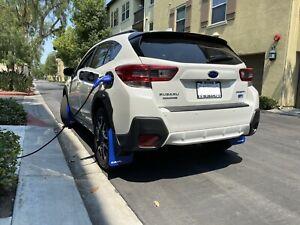 2018 - 2021 Subaru Crosstrek, 2020 Crosstrek Hybrid Blue Mud Flaps