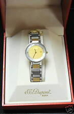 S.T. Dupont LADIES WATCH GOLD MONTRE QUARTZ