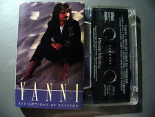 YANNI  CASSETTE TAPE REFLECTIONS OF PASSION 1990 MADE IN U.S.A.