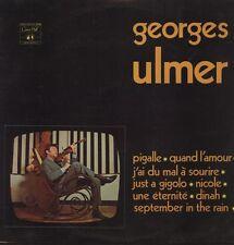 GEORGES ULMER Magnifique LP 33T 30 CM Concert Hall / Photo pochette LAGUENS