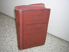 1903.précis d'anatomie physiologie.Paul Rudaux.médecine.1ère ed.sage-femme