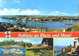 AK, Koblenz, vier Abb., 1979