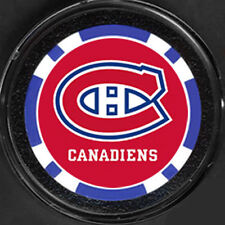 A MONTREAL CANADIENS HOCKEY POKER CHIP CARD GUARD COVER
