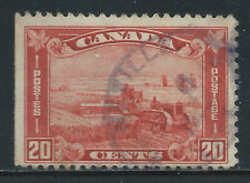 Canada #175(15) 1930 20 cent brown red HARVESTING WHEAT Used CV$2.00