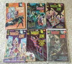 The Twilight Zone Comic 6 Book Lot, Gold Key